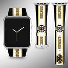 Boston Bruins Apple Watch Band 38 40 42 44 mm Series 1 2 3 4 Wrist Strap 2 $29.99 USD on eBay