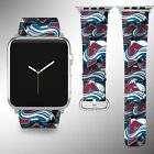 Colorado Avalanche Apple Watch Band 38 40 42 44 mm Series 1 2 3 4 Wrist Strap 1 $32.99 USD on eBay