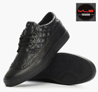 DIAMOND SUPPLY CO. Men's Black Leather Shoes - Z15-F128 Limited Edition - NEW