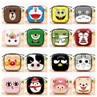 Womens Kids Girls Boys Cartoon Mini Bag Coin Purse Wallet Headset Box Cute Gift