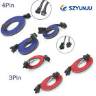 3 pin 4pin Extension Cable Line JST Connector for WS2811/WS2812B/RGB LED Strips