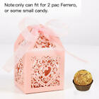 25Pcs Wedding Favors Gift Boxes Candy Box with Ribbons for Party Bridal Shower