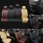 Multicolor Car Front Seat Covers PU Leather Universal Seat Cushion Set Protector $20.59 USD on eBay
