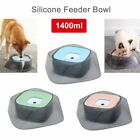1400ml No-Spill Splash-Free Water Bowl Slow Feeder Bowl for Pet Dog Cat BEST