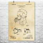 Anesthesia Face Mask Poster Print Medical Student Dentist Gift Nurses Office Art