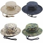 THE HAT DEPOT Cotton Stone-Washed Safari Wide Brim Bucket Hat Size S - XL