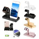 Charging Dock Stand Charger Holder For Apple Watch iWatch iPhone 7 Plus LOT FK