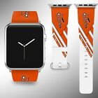 Baltimore Orioles Apple Watch Band 38 40 42 44 mm Fabric Leather Strap 03 on Ebay