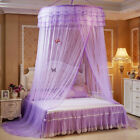 Romantic Round Dome Mesh Lace Mosquito Net Bed Canopy Bedding Netting Bedcover image