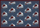 Colorado Avalanche NHL Team Repeat Area Rug Milliken $124.0 USD on eBay