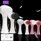 Silicone Face Cleansing Brush Skin Care Remover To Blackhead Deep Facia Cleaning