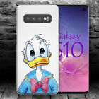 DONALD DUCK A DISNEY CARTOON Samsung S7 S8 S9 S10 S10E Edge + plus case cover