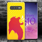 LION KING A DISNEY CARTOO Hülle Samsung S7 S8 S9 S10 S10E Edge + plus case cover