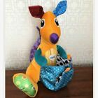 Educational Rattle Bell Hanging Stroller Toy Animal Theme Design Cloth Materials