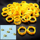 200 Pcs Tile Flooring Wall Leveling Spacers System 100 Caps +100 Straps Tool Kit