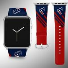 Houston Texans Apple Watch Band 38 40 42 44 mm Series 5 1 2 3 4 Wrist Strap 05 $32.99 USD on eBay