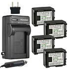 Kastar Battery AC Travel Charger for Canon BP-809 Canon VIXIA HF20 HF 20 Camera