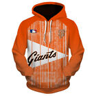 SAN FRANCISCO GIANTS SF Hoodie Baseball Zip Up Hooded Pullover S-5XL 2019 NEW on Ebay