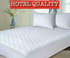 EXTRA DEEP QUILTED MATTRESS PROTECTOR - 25CMS FITTED SKIRT - SILENT SLEEP  image
