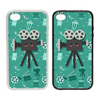 Camera Character - Rubber or Plastic Phone Case #2 - Movies Films Cinema Silver