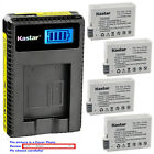 Kastar Battery LCD USB Charger for Canon LP-E8 LC-E8 & Canon EOS 600D Camera