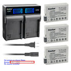 Kastar Battery LCD Rapid Charger for Canon LP-E8 LC-E8 Canon EOS Kiss X4 Camera
