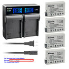 Kastar Battery LCD Rapid Charger for Canon LP-E8 LC-E8 & Canon EOS 550D Camera