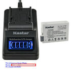 Kastar Battery LCD Quick Charger for Canon LP-E8 E8 Battery LC-E8 LC-E8E Charger