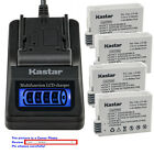 Kastar Battery LCD Quick Charger for Canon LP-E8 LC-E8 & Canon EOS 700D Camera