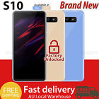 2019 New S10 Android 8.1 Unlocked Mobile Phone Cheap Smartphone 2sim Quad Core