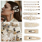 USA Fashion Pearl Hair Clip Hairband Comb Bobby Pin Barrette Hairpin Headdress