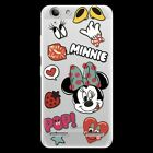 Minnie Soft TPU Clear Case Cover For Lenovo Vibe A7000 Note P2 Z5 P70 S90 K6 K8