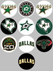 Dallas Stars Set of 10 Buttons or Magnets NEW 1.25 inch $4.5 USD on eBay