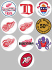 Detroit Red Wings of 10 Buttons or Magnets NEW 1.25 inch $4.5 USD on eBay