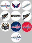 "Washington Capitals Set of 10 Buttons or Magnets Set 1.25"" NEW $5.0 USD on eBay"
