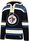Winnipeg Jets 47 Brand NHL Team Lacer Hooded Top $121.37 USD on eBay