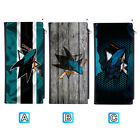 San Jose Sharks Woman Men Leather Clutch Wallet Bifold Purse Handbag $12.99 USD on eBay