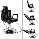 Hydraulic Reclining Barber Chair Hair Styling Beauty Salon Shampoo Spa Equipment