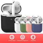 For Apple Airpod 2 Wireless Charging Case Silicone Protective Cover Skin Airpod