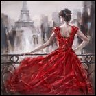 Внешний вид - Dress Red - Chart Counted Cross Stitch Patterns Needlework DIY DMC Color