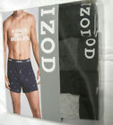 Izod Men's 4 Pack Knit Boxer Shorts W/ Button Through Fly Choose Size Design