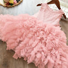 Kyпить Lace Flower Girl Dress Kids Party Princess Birthday Party Tutu Clothes Size 8 на еВаy.соm