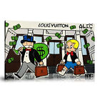 Alec Monopoly HD Print Oil Painting Home Decor Art On Canvas Monop on Rodeo