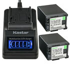Kastar Battery LCD Quick Charger for Canon BP-820 828 Battery OEM CG-800 Charger