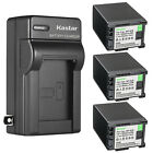 Kastar Battery AC Wall Charger for Canon BP-820 BP-828 & Canon VIXIA XA55 Camera
