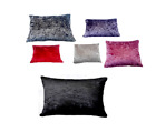 Crushed Velvet FLOOR Cushion Covers ONLY, with Inner 60x80cm Dog Beds reversible