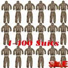 1-100X Camo Camouflage Clothing Leafy Woodland Hunting Camo Jungle Suit LOT MY