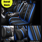 US Universal PU Leather Car Seat Cover 5 Seat SUV Cushions Front $111.29 USD on eBay