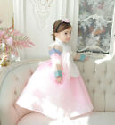 Baby's Girls's 1st birthday hanbok dress Korean traditional costumes dolbok