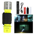LOT Underwater Diving Scuba T6 LED Flashlight Waterproof 18650 Torch Lamp Light
